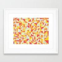 Shapes 008 Framed Art Print