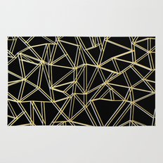 Ab Gold and Silver Rug