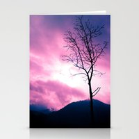 Into The Pink & Purple S… Stationery Cards