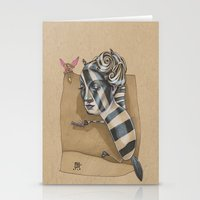 ZEBRA MAMA  Stationery Cards