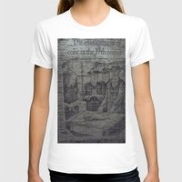 Colic In The 19th Womens Fitted Tee White SMALL