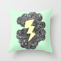 Storm Cloud Throw Pillow