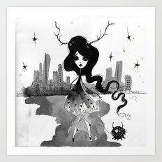 Daytime stars Art Print