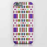 iPhone & iPod Case featuring Retro Bar Pattern by Stoflab