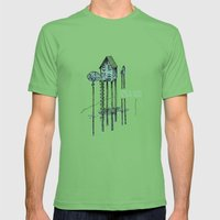Home - ANALOG zine Mens Fitted Tee Grass SMALL
