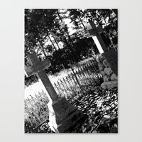 A Dark Vision Canvas Print