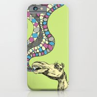 iPhone & iPod Case featuring If Camels Could Sing by Kathryn Corlett // Illustration and Desi