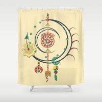 Ornament Variation Three Shower Curtain