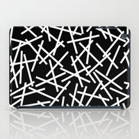 Kerplunk Black And White iPad Case
