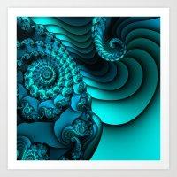 Time Warp Art Print