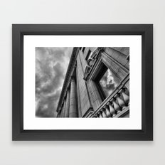 Montreal architecture Framed Art Print