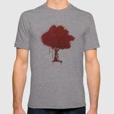 s tree t Mens Fitted Tee Athletic Grey SMALL
