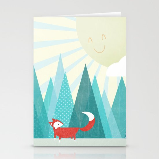 Winter's Over Stationery Card