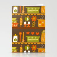 Lets Cook At Home Tonigh… Stationery Cards