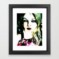Monique Framed Art Print