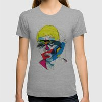041112 Womens Fitted Tee Athletic Grey SMALL