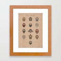 Dwarves - A Spotters Gui… Framed Art Print