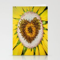 Sunflower of Love Stationery Cards