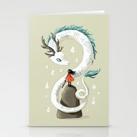 Dragon Spirit Stationery Cards