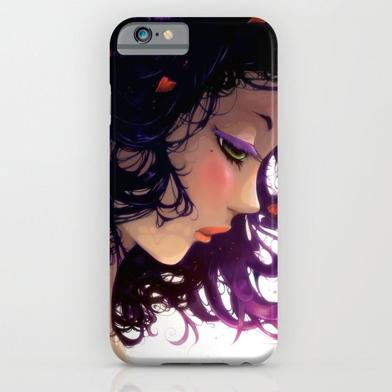 Les fleurs rouges... iPhone & iPod Case