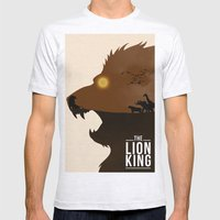The Lion King Mens Fitted Tee Ash Grey SMALL