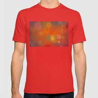 Pattern 2 Mens Fitted Tee Red SMALL