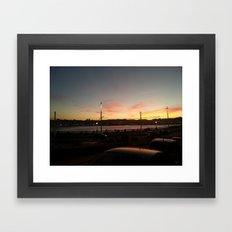 SOLPOR Framed Art Print