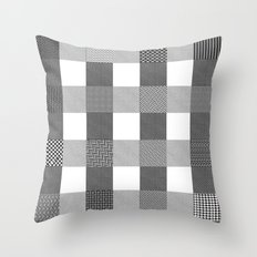 Yogi, B&W Throw Pillow