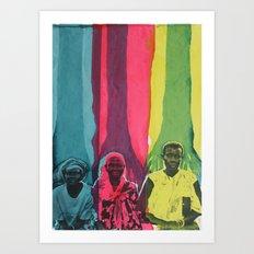 Courage, Wisdom, Strength Art Print