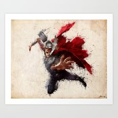 The Mighty One Art Print