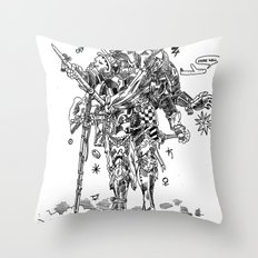 Knight (Ascension) Throw Pillow