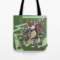 JunkBot Tote Bag
