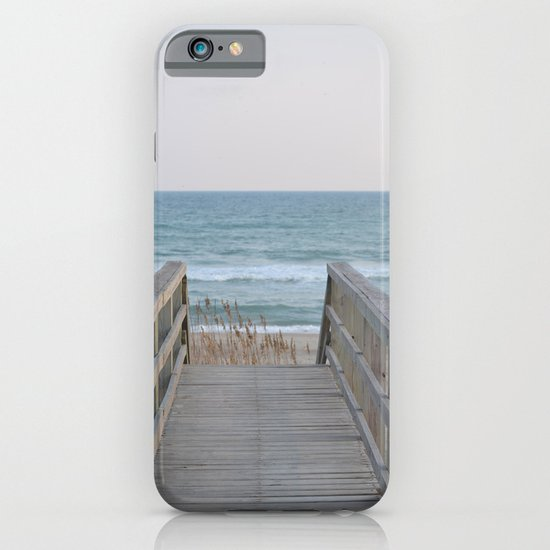 Stroll to the Beach iPhone & iPod Case