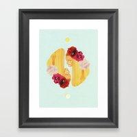 selene and eos Framed Art Print