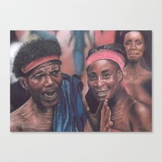 Ghanaian Women Canvas Print