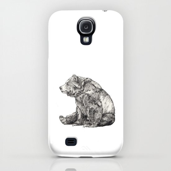 Bear // Graphite iPhone & iPod Case