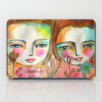 2 Girls iPad Case
