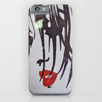 Red Lips iPhone 6 Slim Case