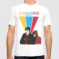 Submarine Movie Poster Mens Fitted Tee White SMALL