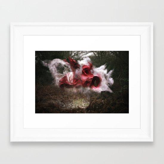 Deliver the Explosion Framed Art Print