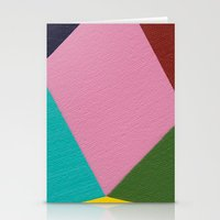 Rhombic Stationery Cards
