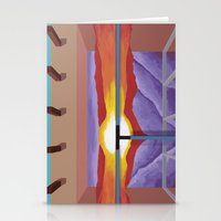 House Of The Sun Cloud Stationery Cards