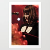 Kate Nash Art Print