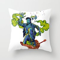 Music Makes Me Lose Cont… Throw Pillow