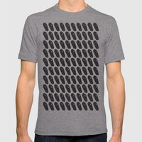Black Coffins Mens Fitted Tee Tri-Grey SMALL