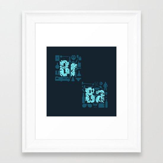 Br Ba Framed Art Print