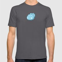 Marshmallow Blob Mens Fitted Tee Asphalt SMALL