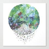 A Stillness Like I've Ne… Canvas Print