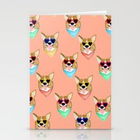 Corgi Love Stationery Cards