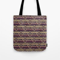 Are You Happy?     Cassette Tape Tote Bag